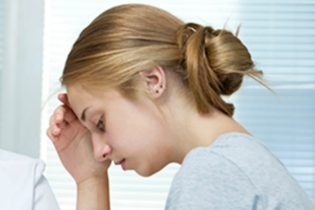 Image of distressed girl