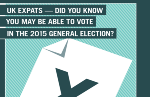 'UK residents overseas will be able to vote in UK's General Election'