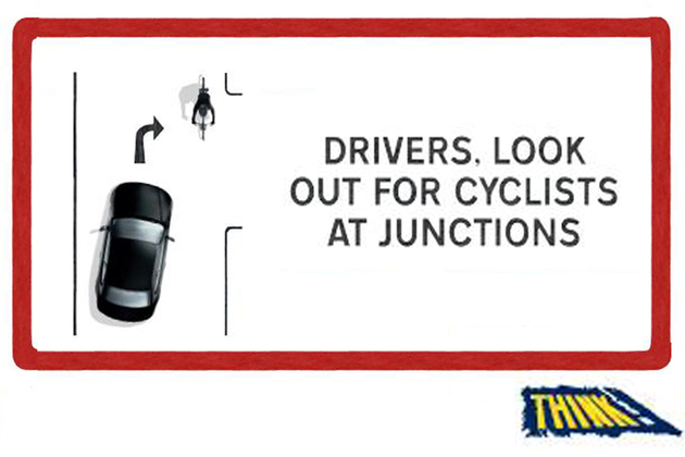 THINK! cycle safety campaign
