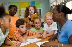 School Teacher with Kids