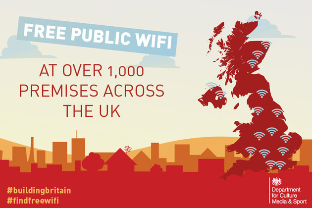 Graphic: free Wi-Fi now installed in more than 1,000 public buildings