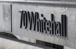 70 Whitehall sign.