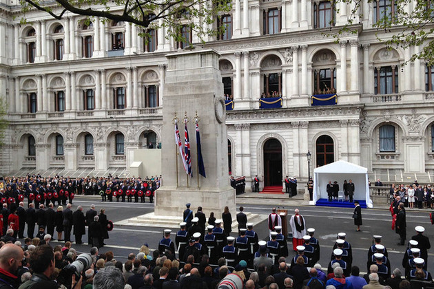 On Saturday 25 April, a service took place at the Cenotaph on Whitehall to pay homage to those who fought and died during the Gallipoli campaign in Turkey 100 years ago.