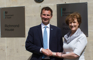 Read 'Health Secretary Jeremy Hunt on his reappointment' news story