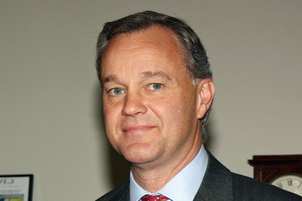 FCO Minister for Africa, Mark Simmonds