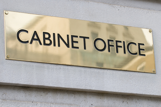 Cabinet Office signage