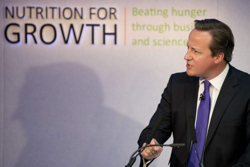 PM at Nutrition for Growth