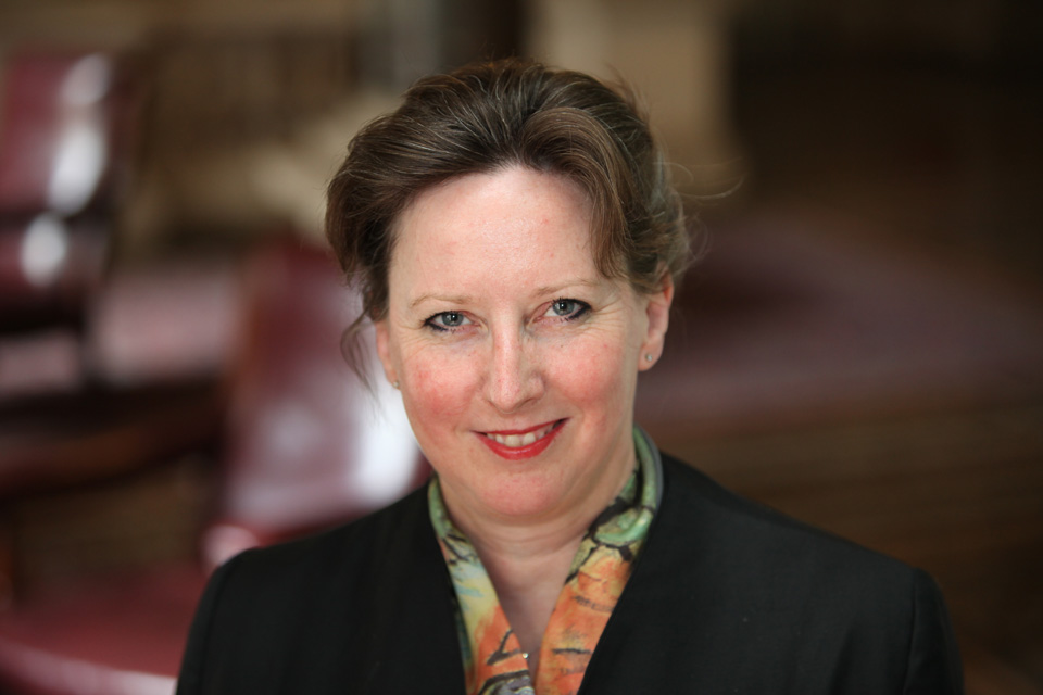 Fiona Clouder, Her Majesty's Ambassador to Chile.