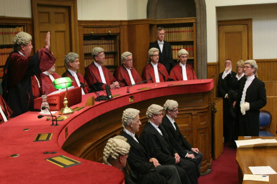 AG Swearing in cereomony