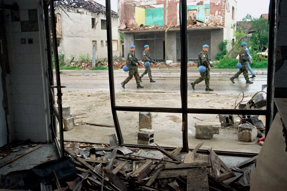 UN Peacekeepers in Bosnia and Herzegovina