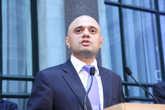 Business Secretary Sajid Javid - photo from FCO