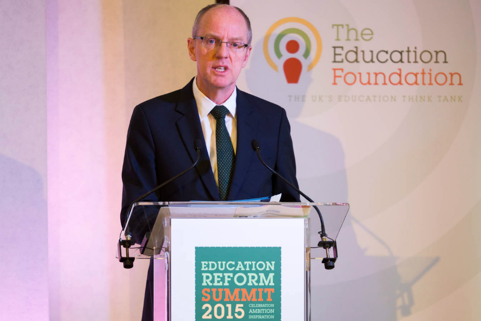 Nick Gibb at Education Reform Summit