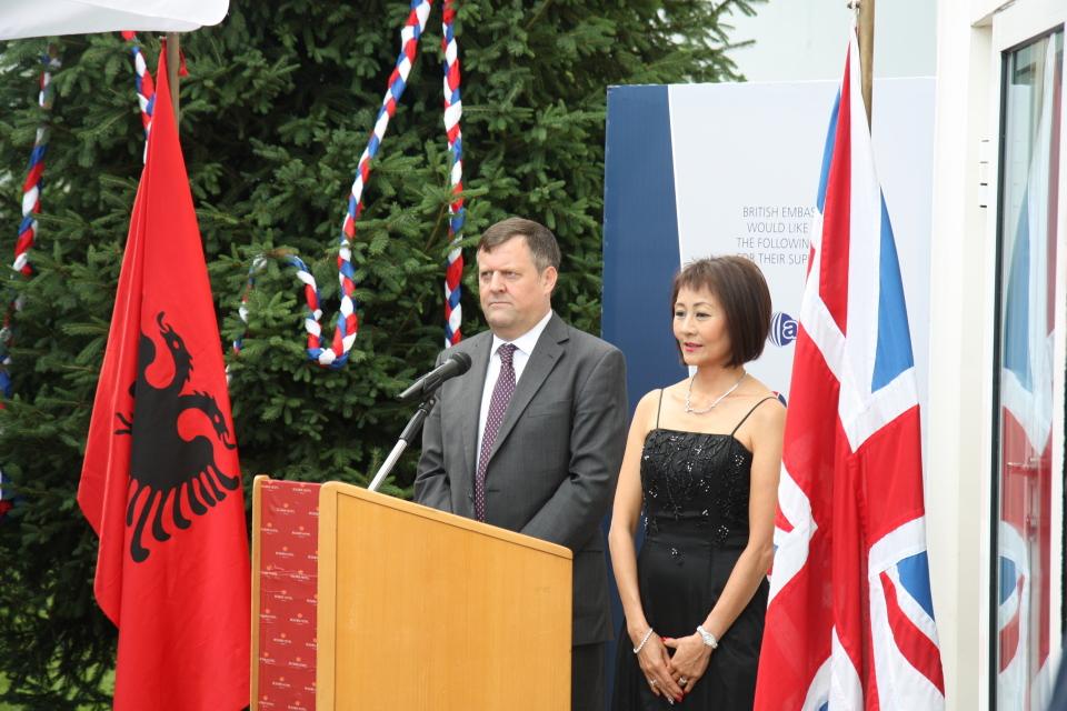 Ditëlindja e Mbretëreshës në Tiranë