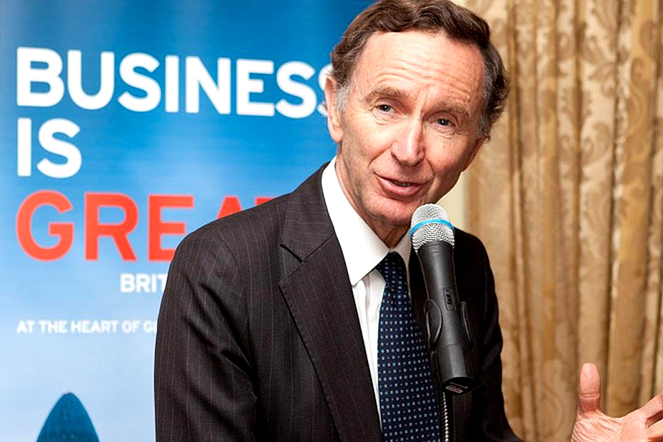 Lord Green, Trade & Investment Minister
