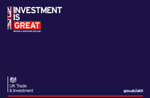 Investment is GREAT Britain