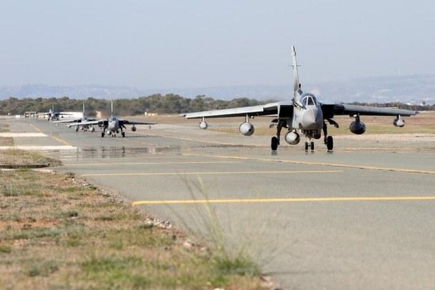 Tornado GR4s at RAF Akrotiri