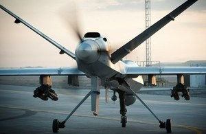 A Royal Air Force Reaper RPAS