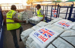Britain steps up support for Burma's floods