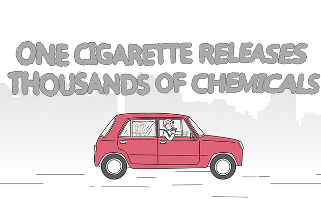 smoking in cars