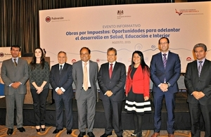 British Embassy Lima cosponsors Public Works Tax Deduction event