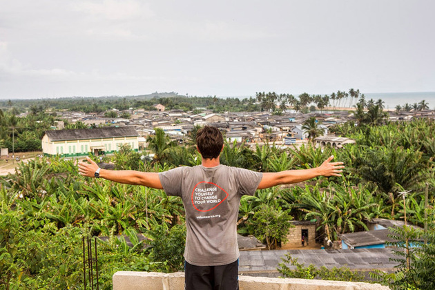 ICS volunteer in Ghana
