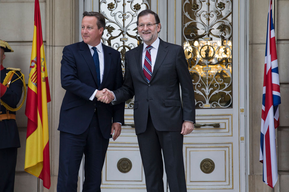 PM and Spanish Prime Minister Mariano Rajoy
