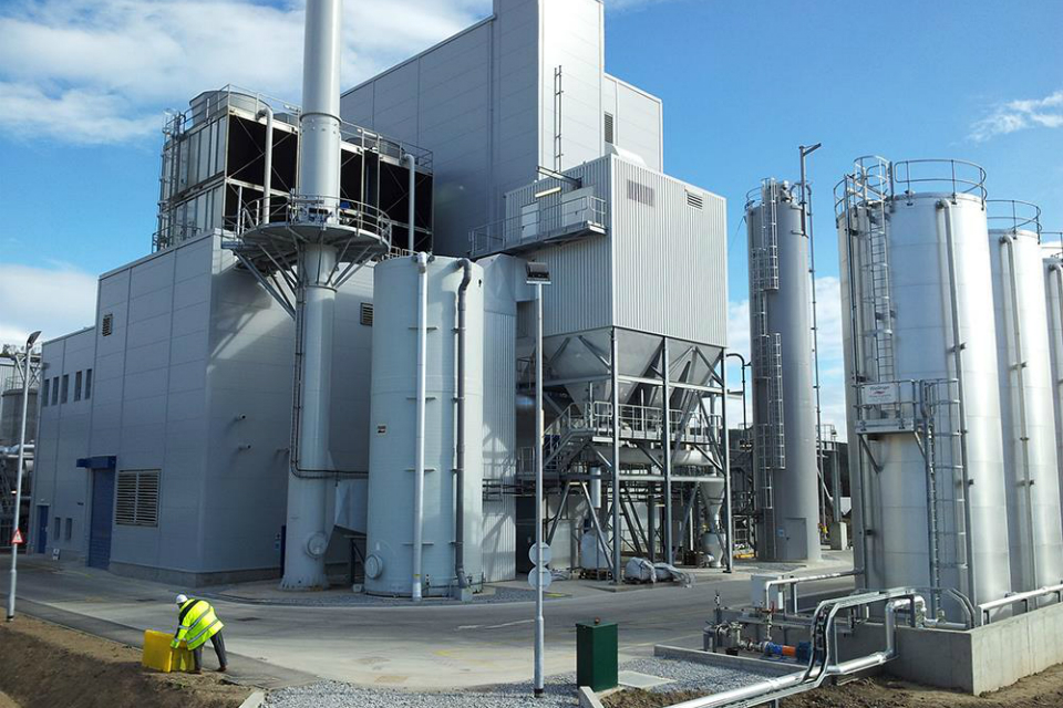 Rothes Distillers (CoRDe) state of the art biomass/feeds CHP plant