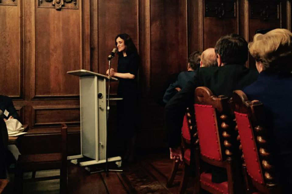Theresa Villiers delivers speech at BIA conference