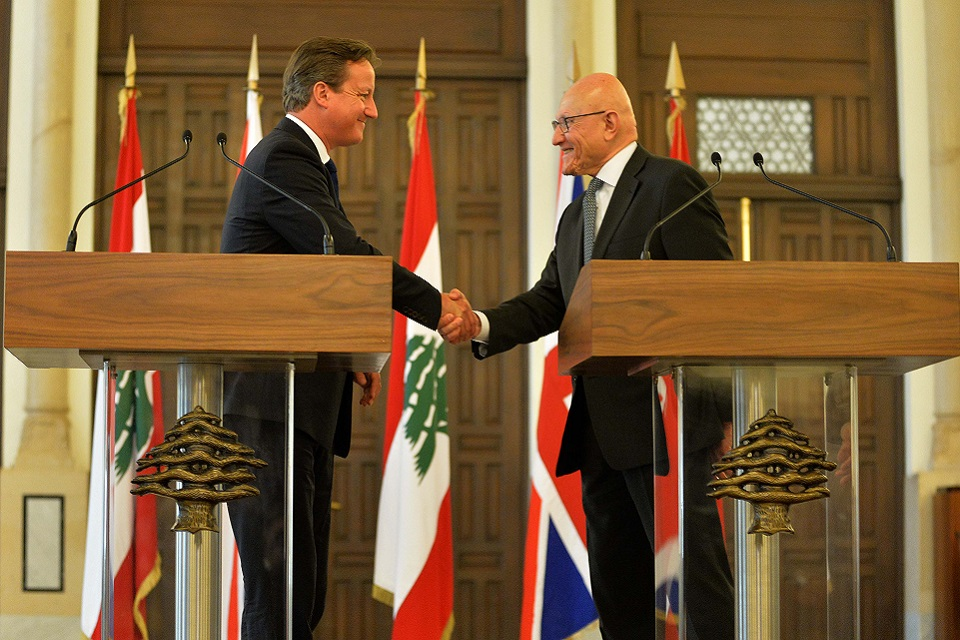 PM with Prime Minister of Lebanon