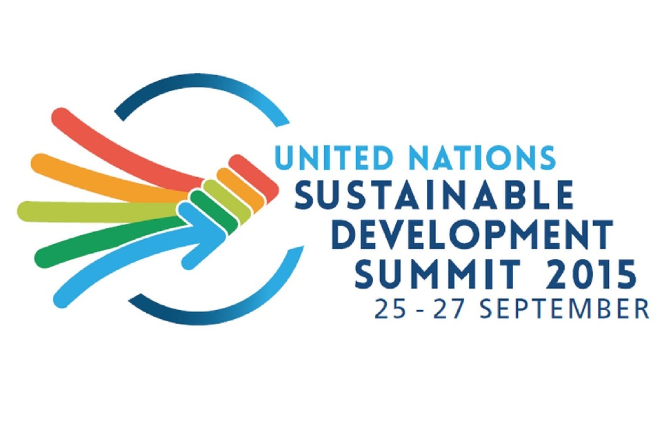 United Nations Sustainable Development Summit 2015 logo