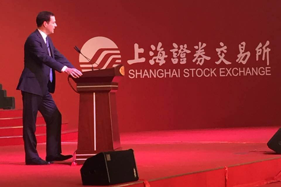 Chancellor: 'Let's create a golden decade for the UK-China