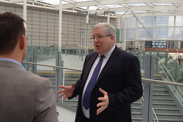 Transport Secretary unveils revamp of Manchester Victoria station