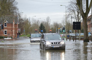Flooding in England 2010