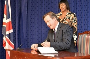 PM announces £300 million fund for Caribbean infrastructure