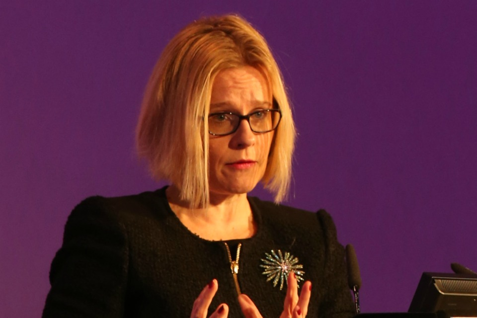 Natalie Ceeney, the Chief Executive of HM Courts and Tribunals Service, speaking at the Criminal Justice Management conference, September 2015