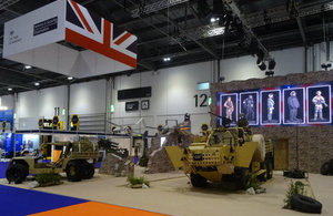 UKTI DSO stand