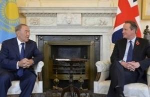 Nazarbayev and Cameron 3 Nov 2015