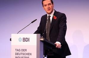Read ' Rede von Finanzminister Osborne zum Tag der Deutschen Industrie in Berlin'