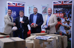 UK charity donates rugby kit to Paraguay Rugby Union