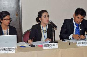 Simulación Conferencia Mundial sobre Cambio Climático, Bolivia
