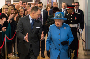 the Queen at the Home Office
