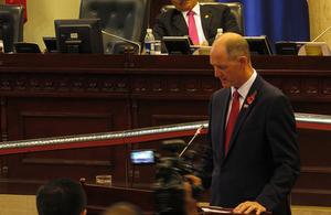 UK Ambassador at Salvadoran Parliament