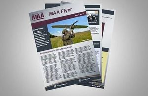Military Aviation Authority newsletter
