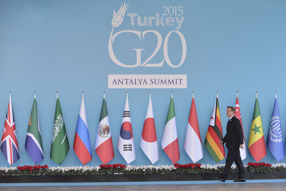 PM arriving at G20 Summit