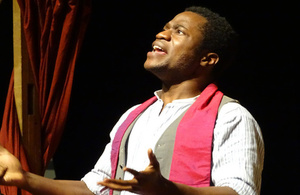 Ladi Emeruwa played Hamlet in Ashgabat