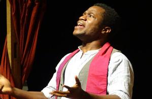 Ladi Emeruwa played Hamlet in Ashgabat