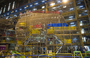 A £1.3 billion contract to build the latest Astute Class attack submarine for the Royal Navy has been awarded by the Ministry of Defence.