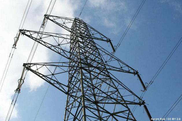 Electricity pylon (credit: Karen Roe/CC BY 2.0)