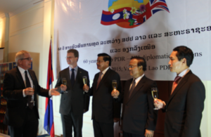 A toast to 60 years of Lao – UK diplomatic relations