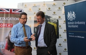 British Embassy and Beeline launch English learning by SMS